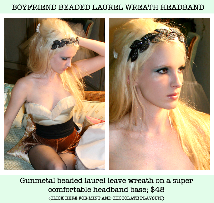 Boyfriend Laurel Wreath Headband